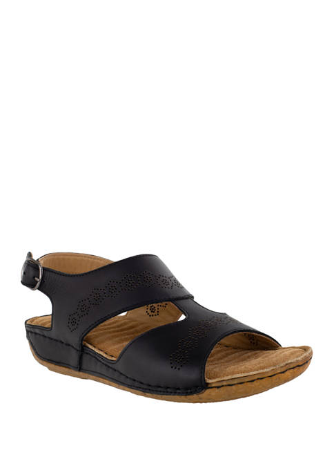 Easy Street Sloane Comfort Leather Sandals