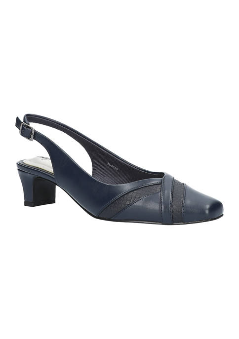 Easy Street Ginny Square Toe Pumps