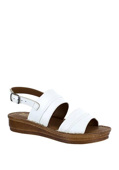 Jes-Italy Slingback Sandals