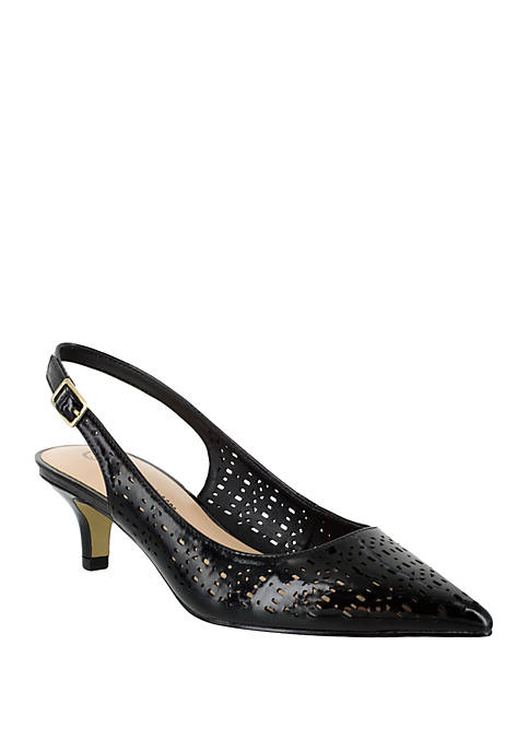 Bella-Vita Sybil Cut Out Slingback Pump