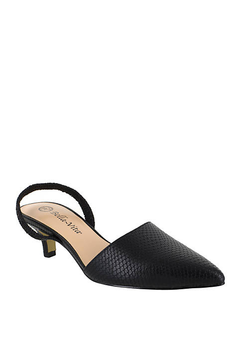 Bella-Vita Sarah II Slingback Dress Heel