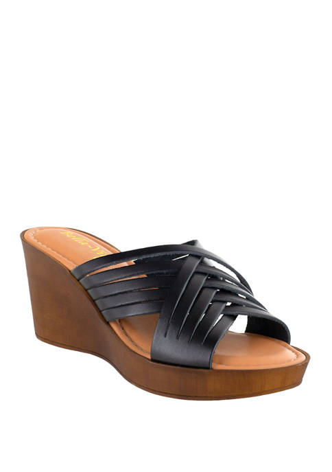 Bella-Vita Cat Italy Wedge Sandals