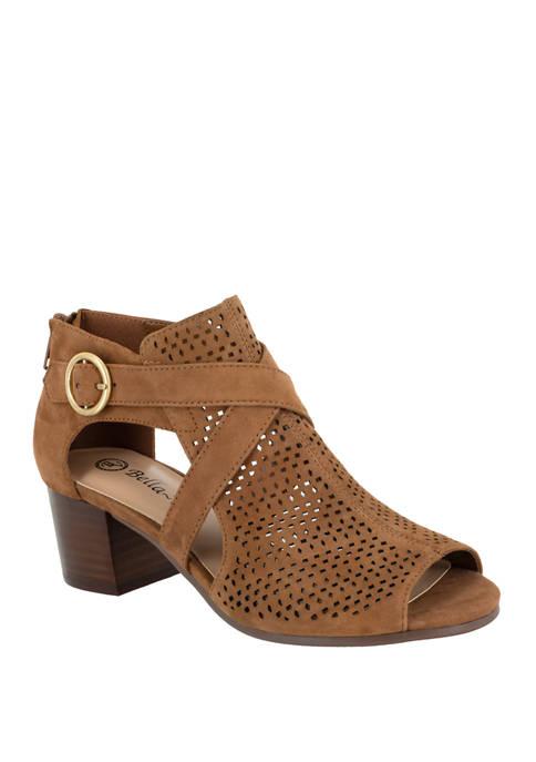 Bella-Vita Delaney Block Heel Sandals
