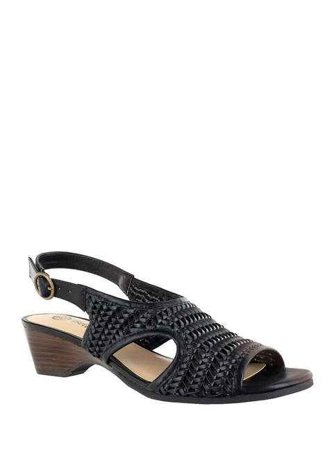 Bella-Vita Justine 2 Woven Wedge Sandals