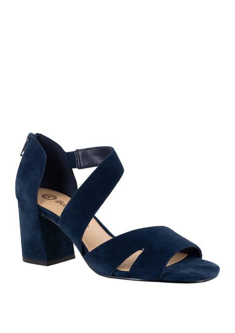 Easy Street Korrine Block Heel Sandals