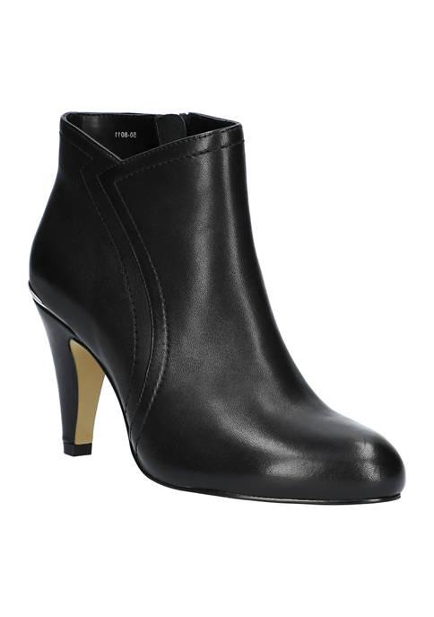 Bella-Vita Phyllis Heel Rand Ankle Boots