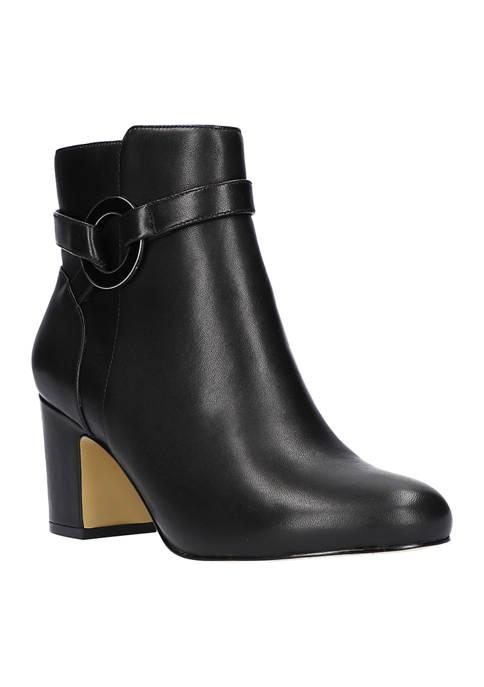 Marla Block Heel Ankle Boots
