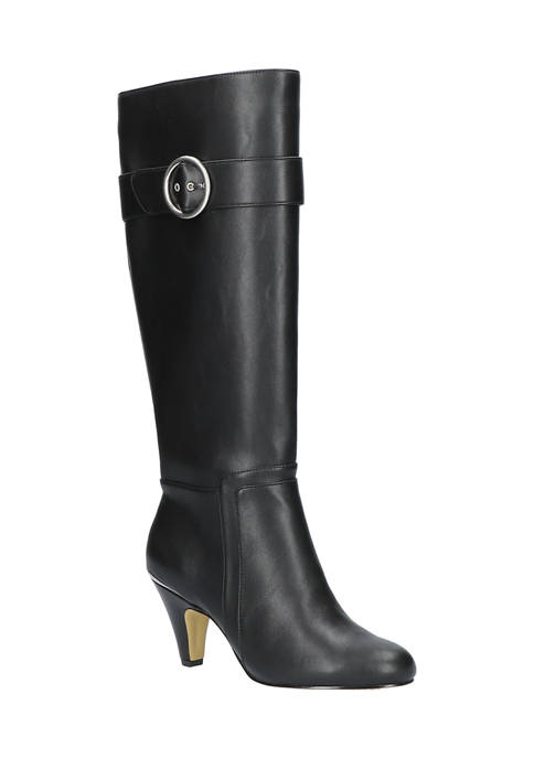 Bella-Vita Braxton Plus Athletic Shafted Tall Boots