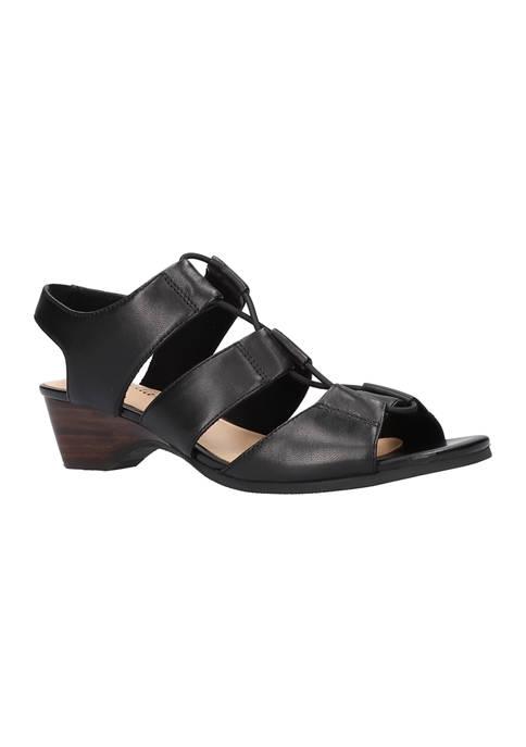 Bella-Vita Suzette Wedge Sandals