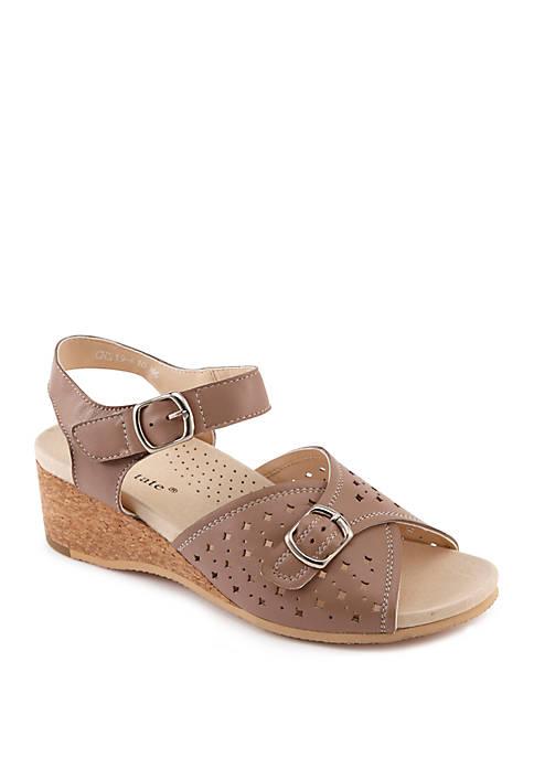 David Tate Briana Wedge Sandals