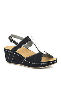 Bubbly Wedge Sandal