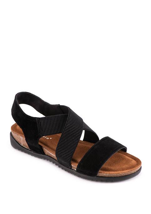 David Tate Clear Sandals