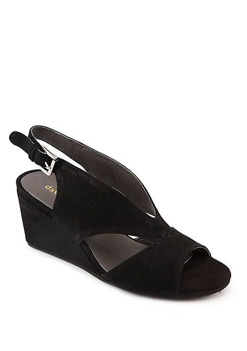 David Tate Harlem Wedge Sandals