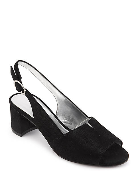 David Tate Rave Slingback Pumps