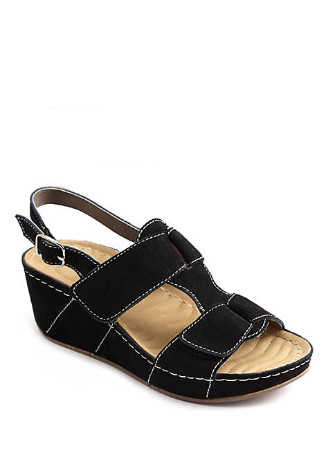 David Tate Reba Wedge Sandals