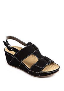 David Tate Reba Wedge Sandals