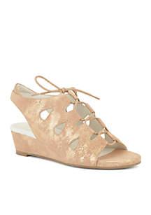 Rich Wedge Heel Sandal