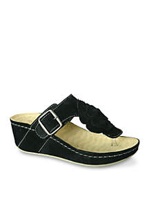 Spring Wedge Sandal