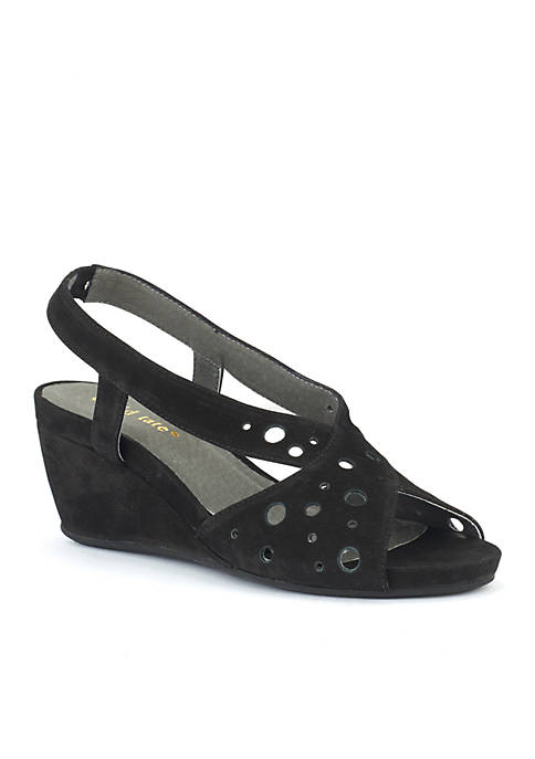 David Tate Yummy Mid Wedge Sandal