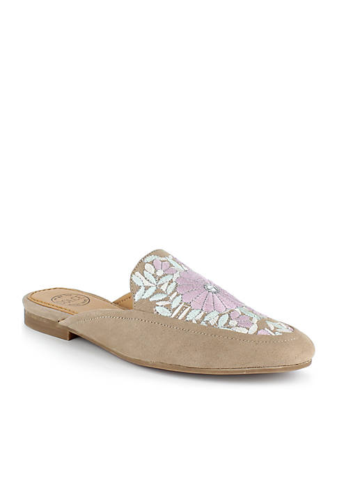 Hanna Embroidered Mule