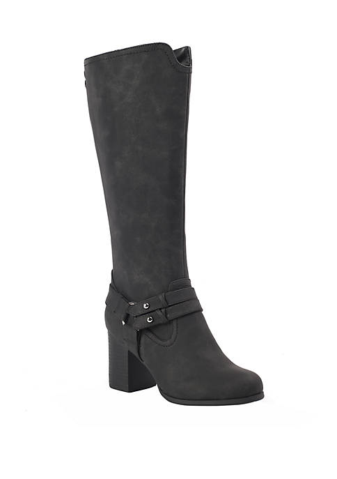 DOLCE by mojo moxy Daltry Tall Harness Boots