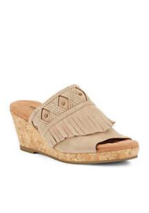 Aniston Wedge Sandal