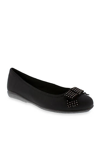Walking Cradles Satin Flat - Available in Extended Sizes - Online Only PNzNeRiyT
