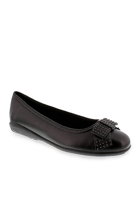 Satin Flat - Available in Extended Sizes - Online Only