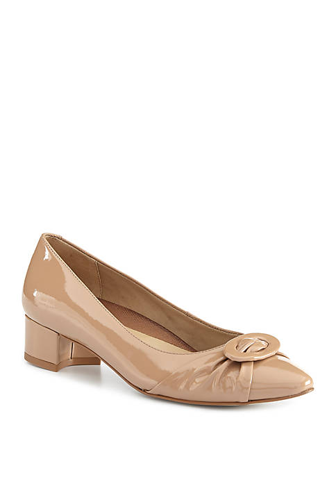 Harmony Pleated Pumps