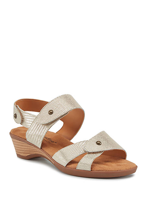 Karen Wedge Sandals