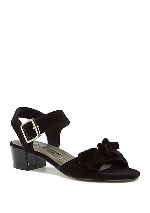 Michelle Block Heel Sandals