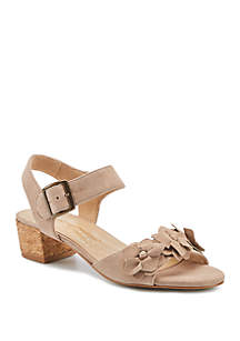 Walking Cradles Michelle Block Heel Sandals
