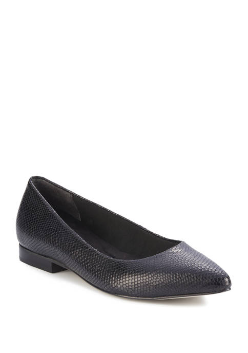 Reece Pointed Toe Flats