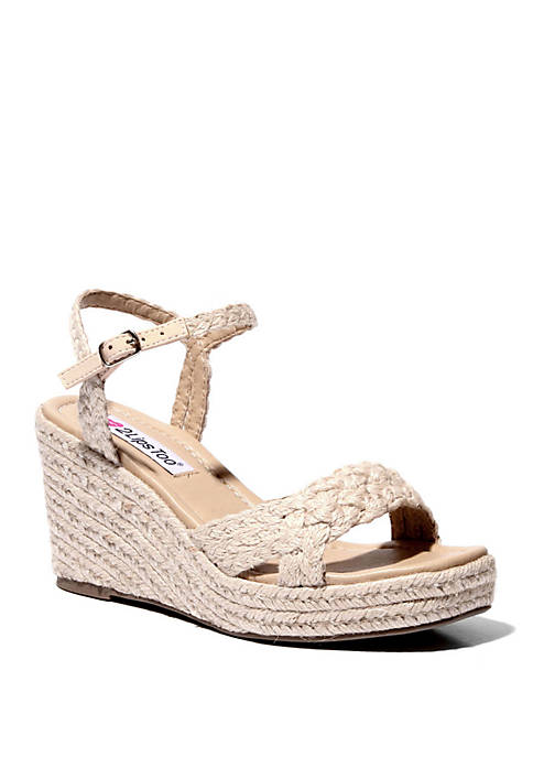 2 Lips Too® Too Beacon Wedge Sandals