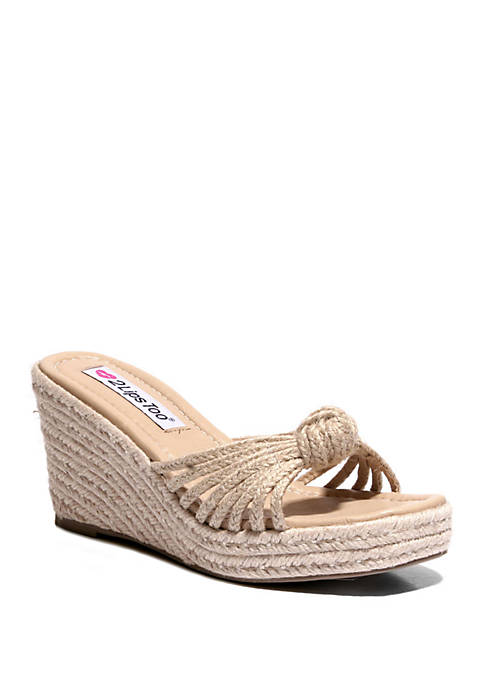 2 Lips Too® Too Blain Knotted Sandals
