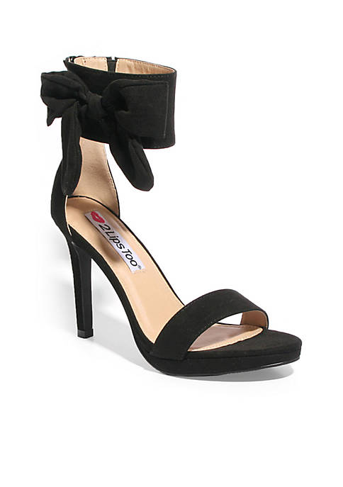 2 Lips Too® Too Dawn Ankle Strap Heel