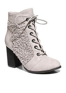 Too Lazlo Lace Up Bootie