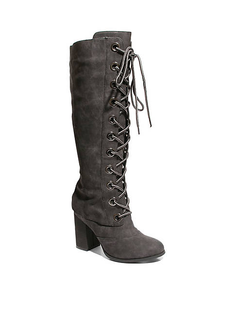Too Loaded Knee High Boots