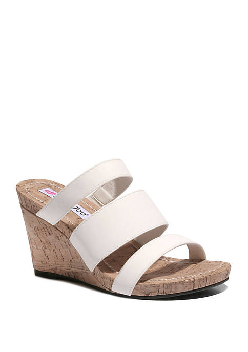 2 Lips Too® Too Marus Footbed Wedge Sandals