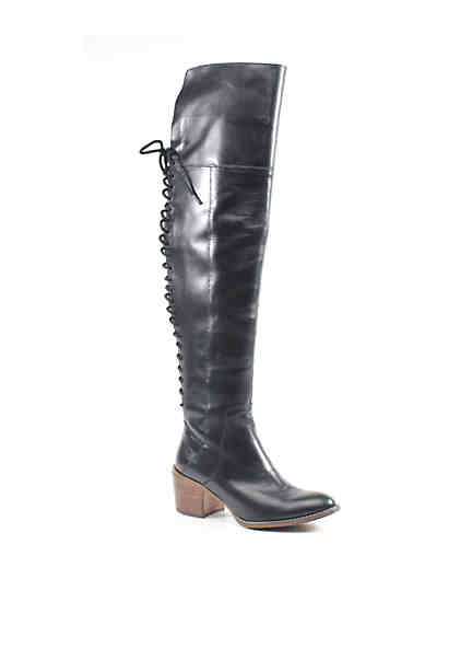 Diba True® Sunset Sail Lace Up Over the Knee Boots ...