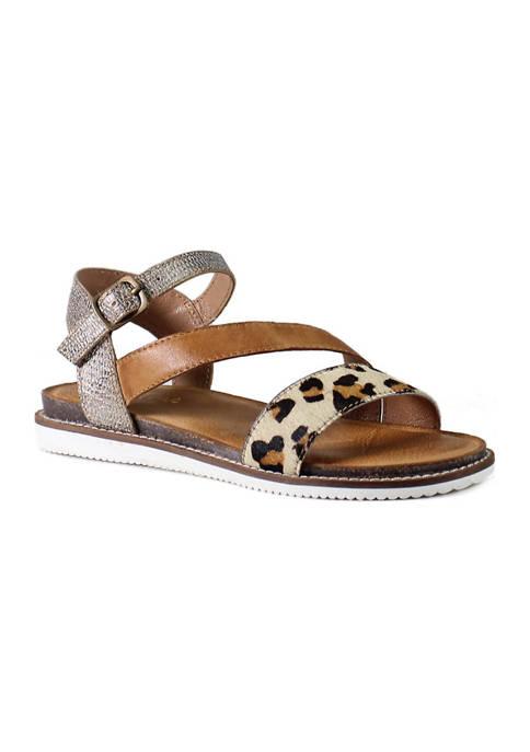 Diba True® Fun Times Animal Color Block Sandals