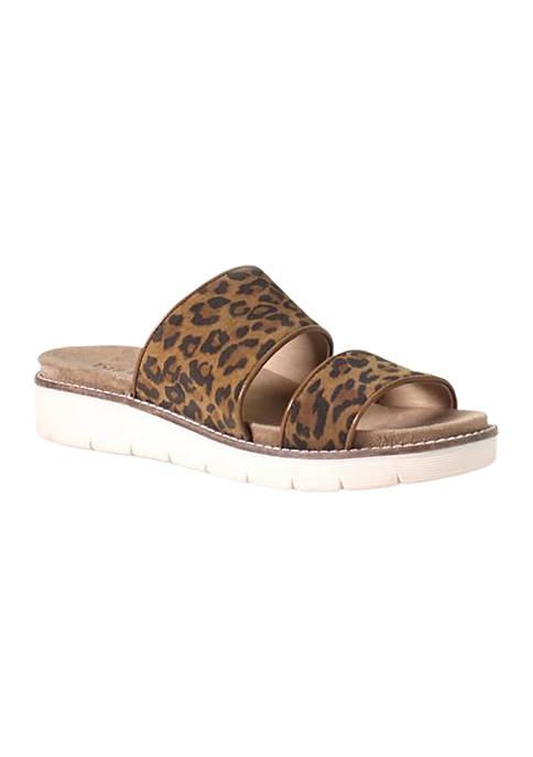 Diba True® 2 Band Comfort Slide Sandals