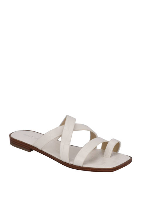 Marc Fisher Arena Toe Sandals