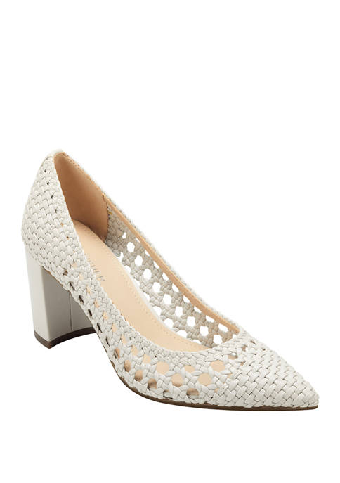 Carly Woven Pumps
