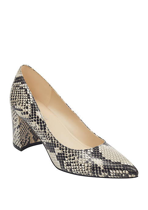 Marc Fisher Claire Snake Pumps