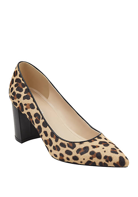 Marc Fisher Claire Leopard Pumps