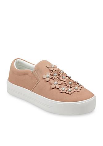 Marc Fisher Dezie Flower Sneaker 0EsIdJDwO