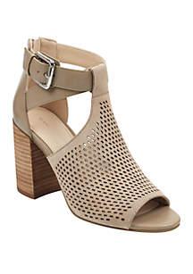 Marc Fisher Gabie Stacked Heel Sandals