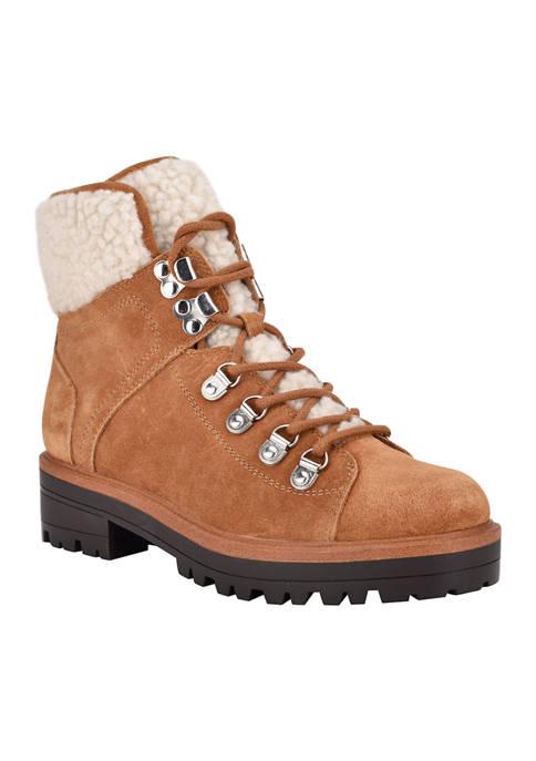 Isalia Shearling Hiker Boots