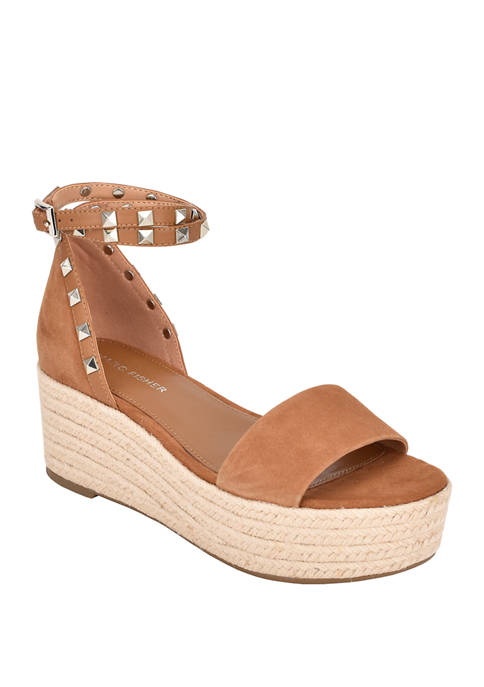 Jazlyn Stud Flatform Sandals